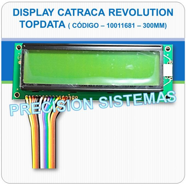 Display Big Number da Catraca Revolution Topdata