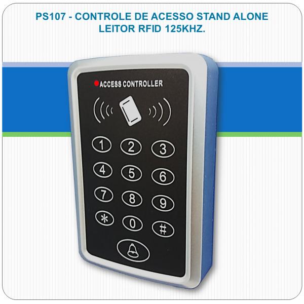 Controle de Acesso Stand Alone - RFID e Senha PS107
