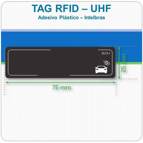 Tag UHF Veicular - Intelbras