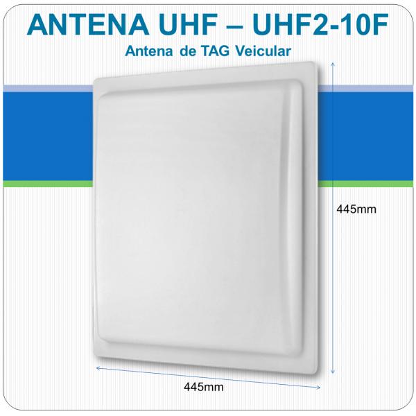 Antena UHF de Tag Veicular - UHF2-10F