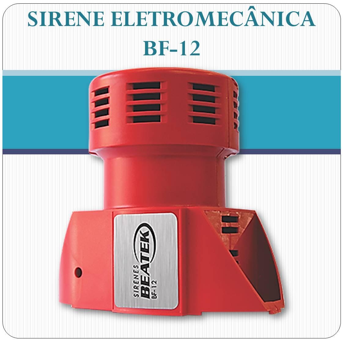 Sirene Eletromecânica BEATEK BF-12