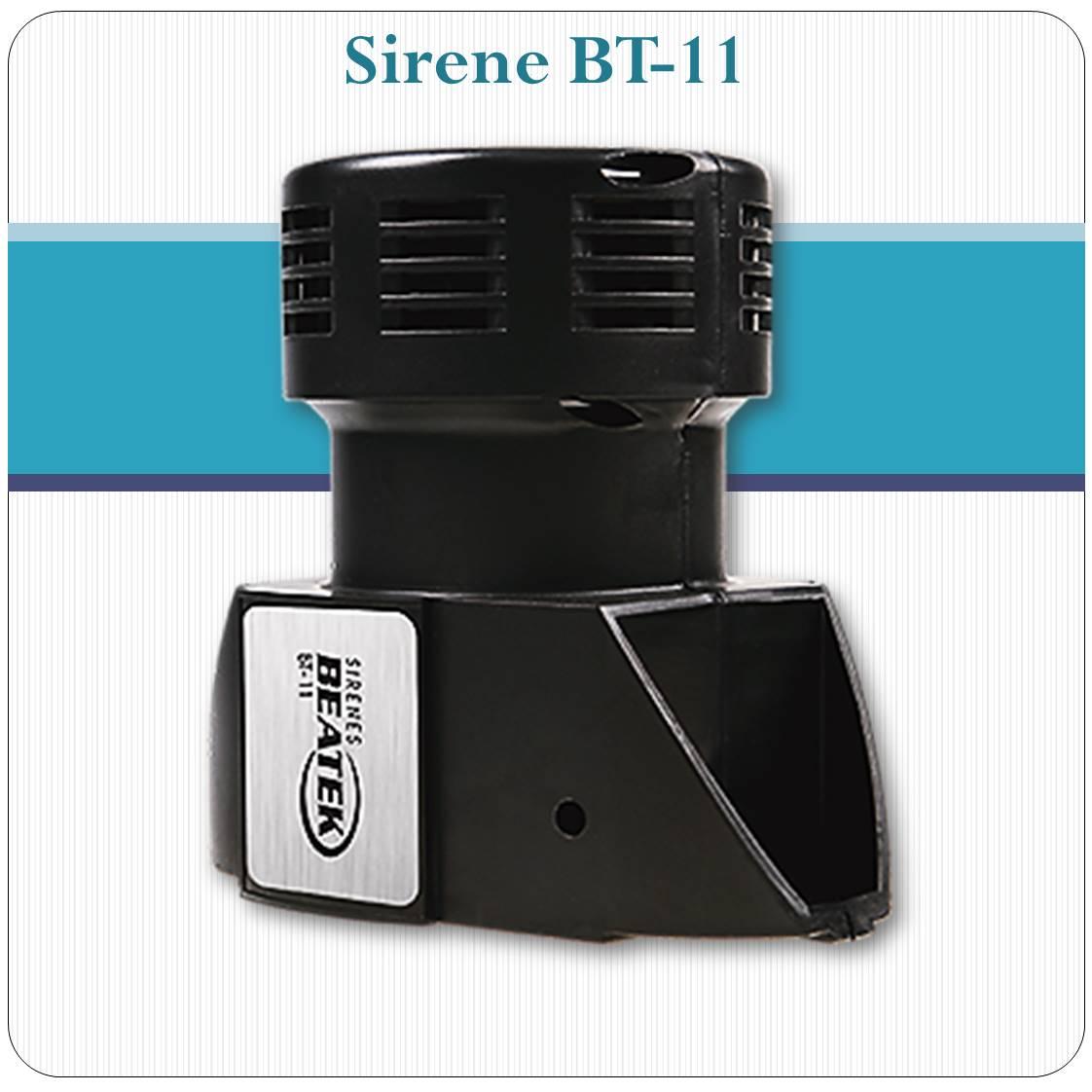 Sirene Eletromecânica BT-11 - 1500 metros