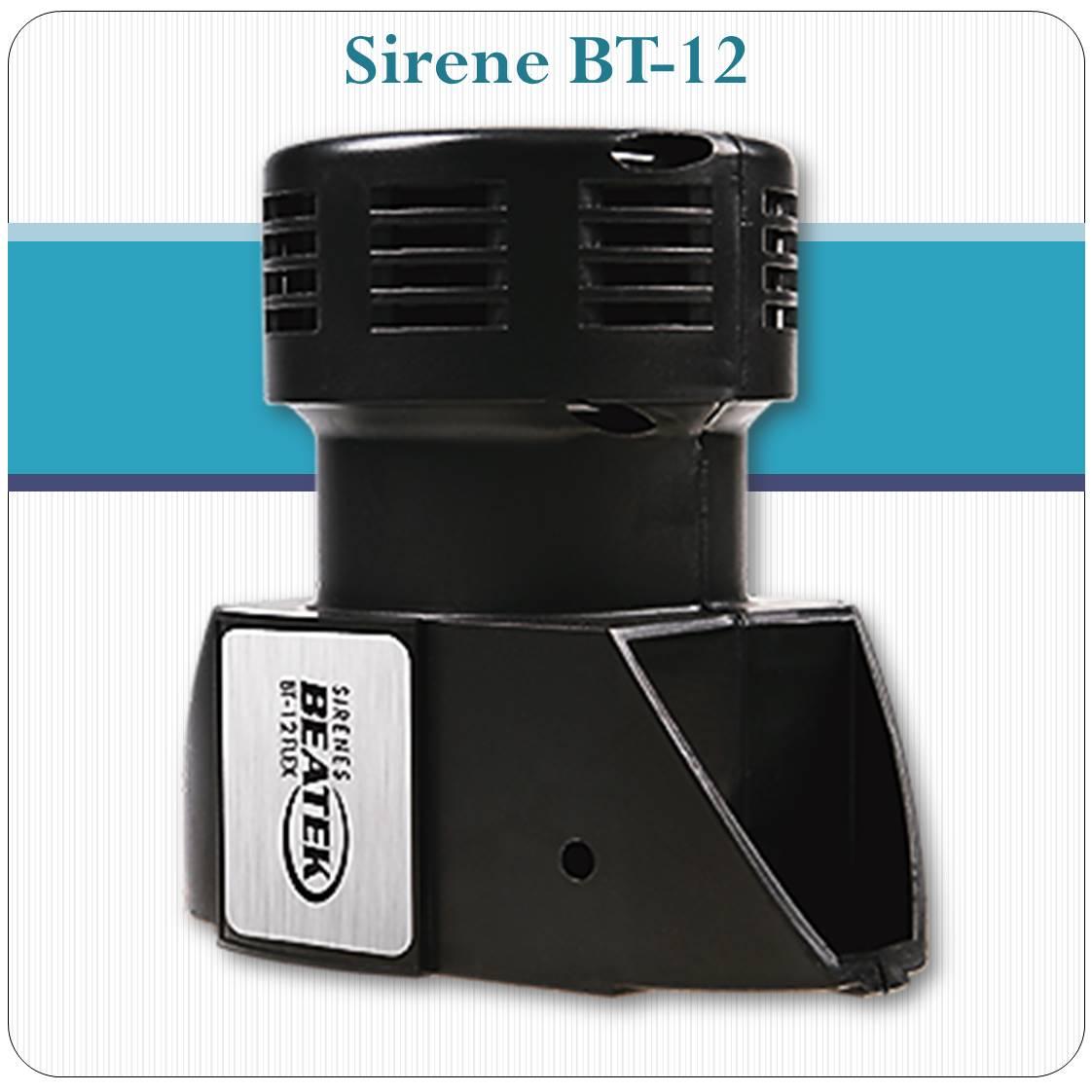Sirene Eletromecânica BT-12 -  500 à 3000 mt.