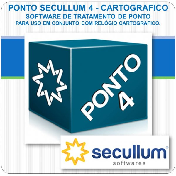 Software Ponto Secullum 4 - Cartográfico