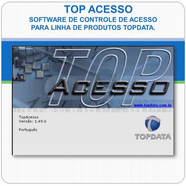 Software para Controle de Acesso - TopAcesso