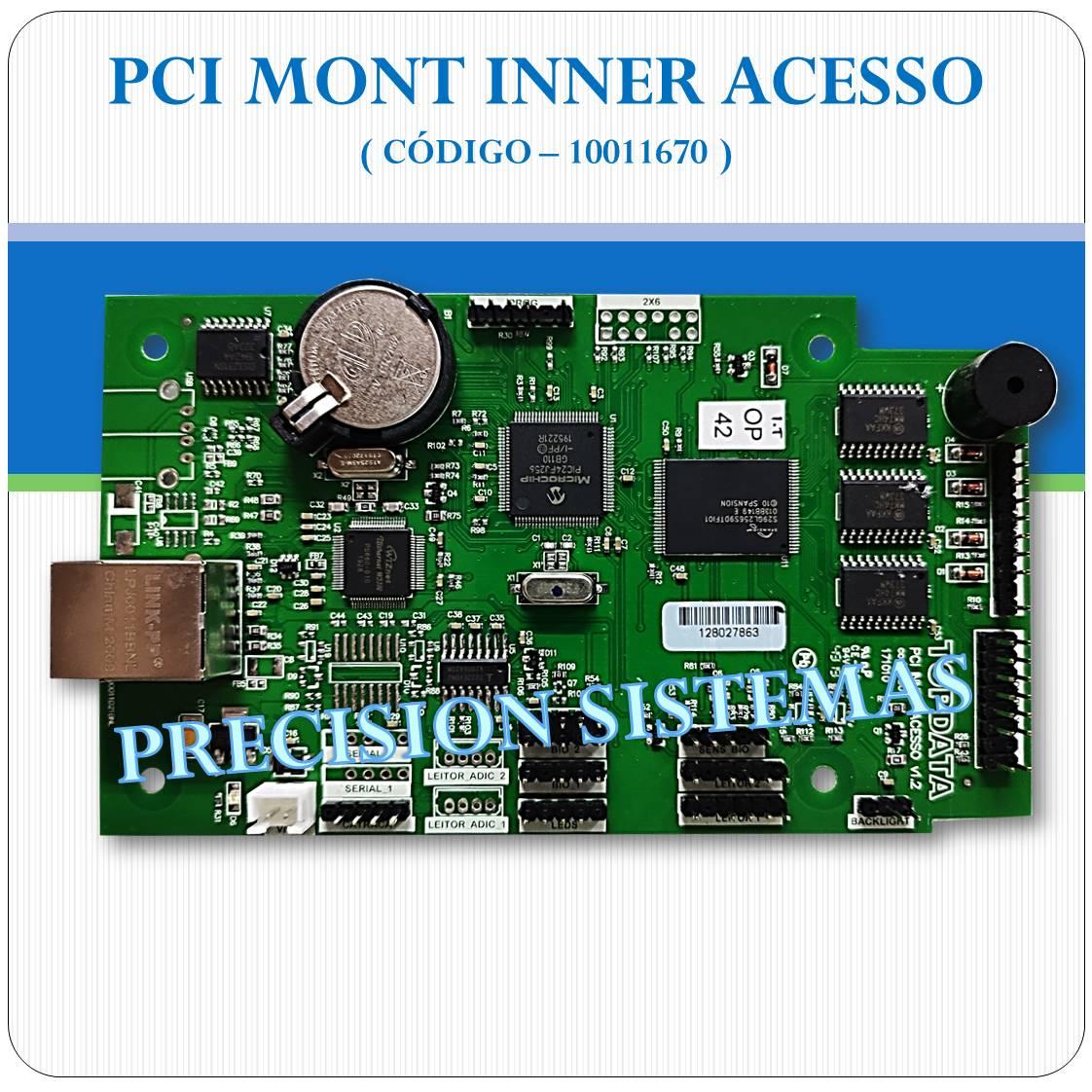 Placa PCI Inner Acesso - Topdata