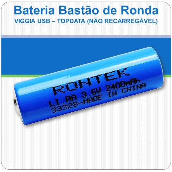 Bateria Bastão de Ronda - Viggia USB - Topdata