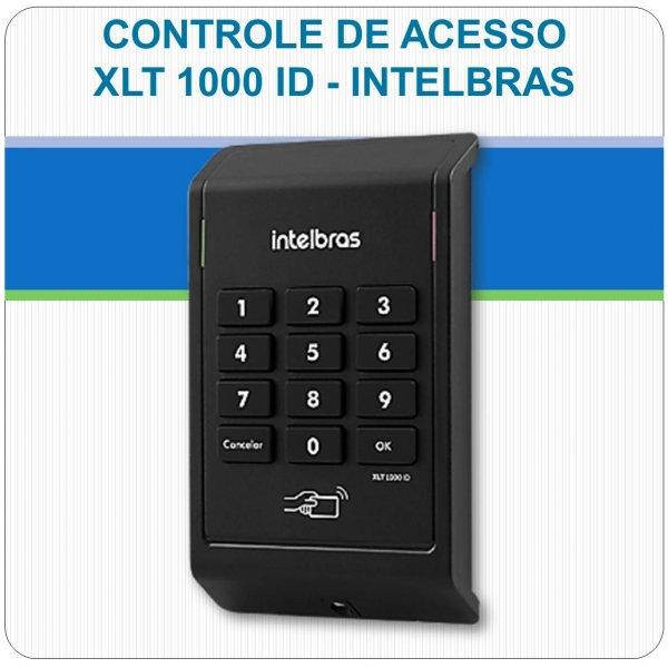 Controle de Acesso RFID e Senha XLT 1000 ID Intelbras