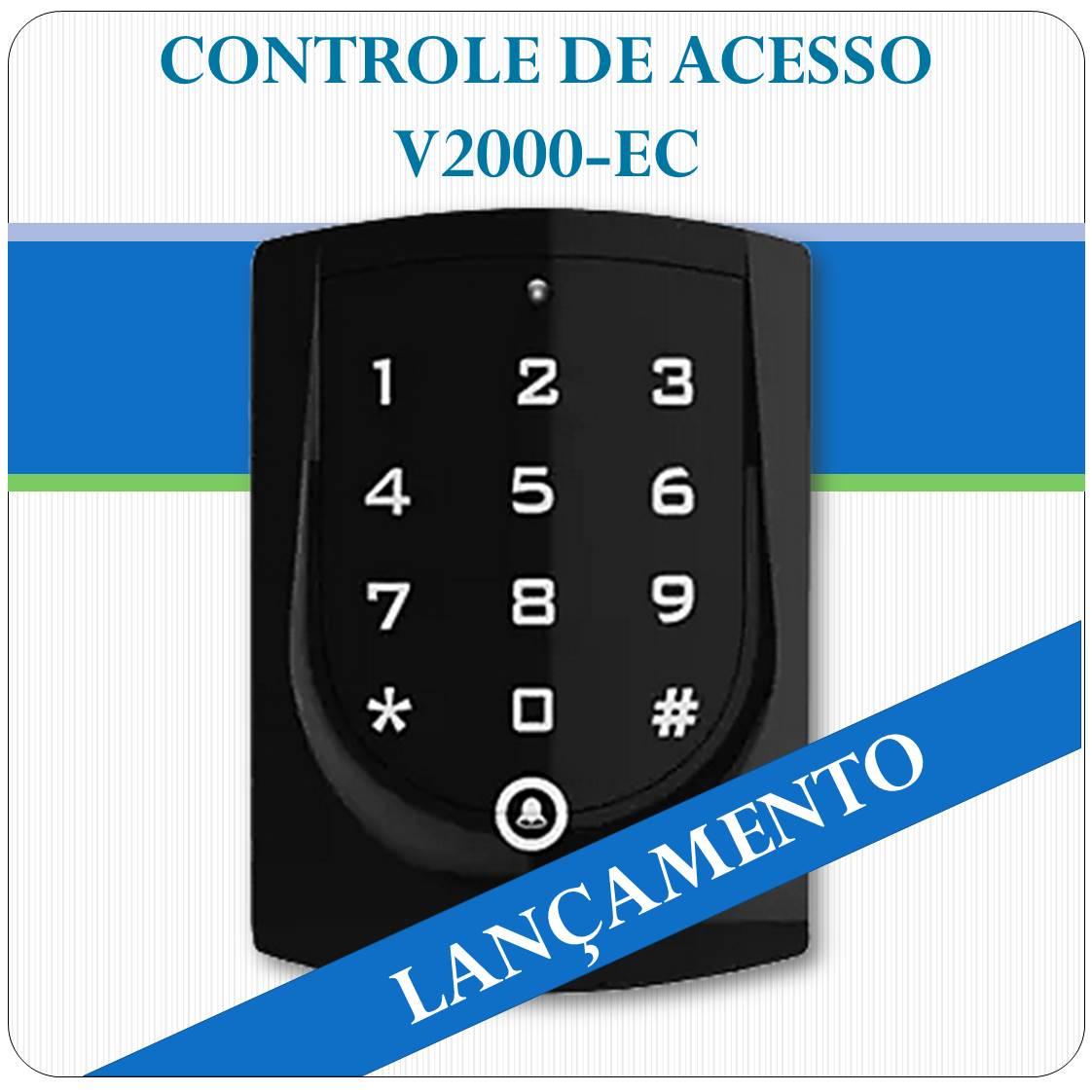 Controle de Acesso Stand Alone RFID Mifare - V2000-EC