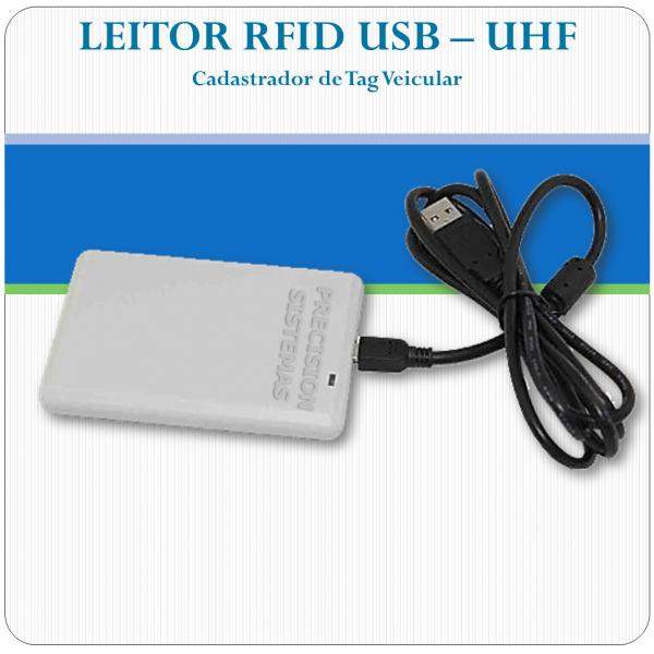Leitor e Gravador RFID USB - UHF