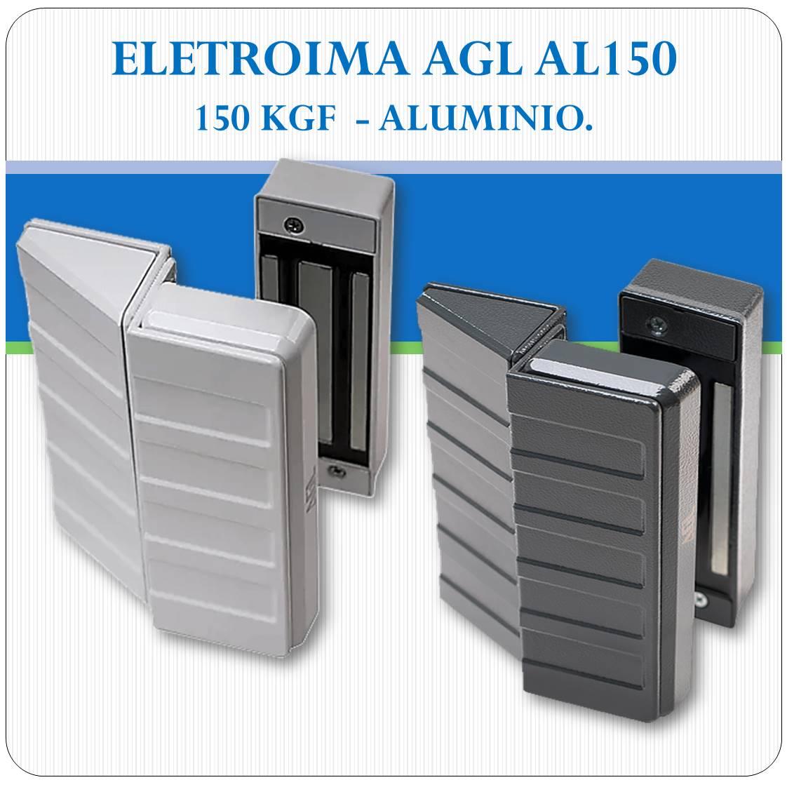 Fechadura Eletroimã AL 150 - 150Kgf (AGL)