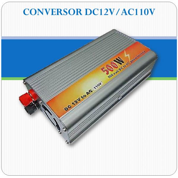 Conversor de tensão 12Vcc para 110Vac