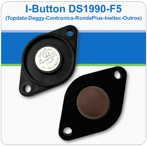 I-Button para bastão de ronda