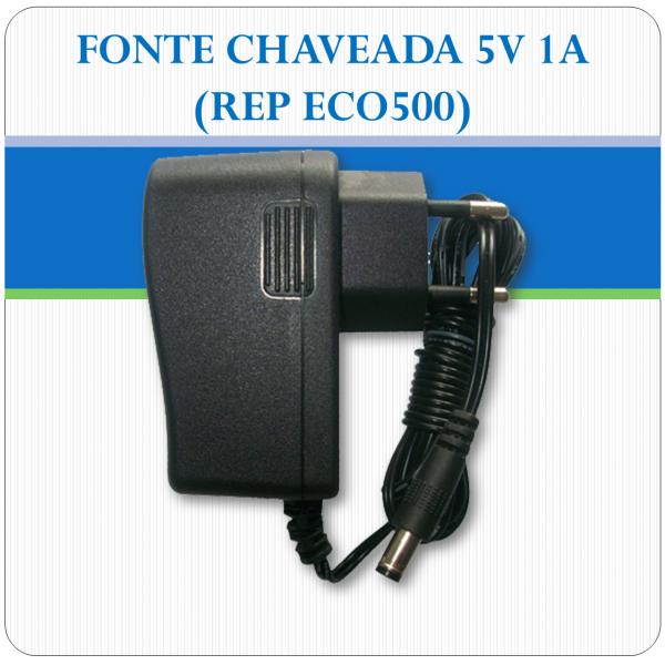 Fonte de alimentação chaveada 5V 1A - REP ECO500