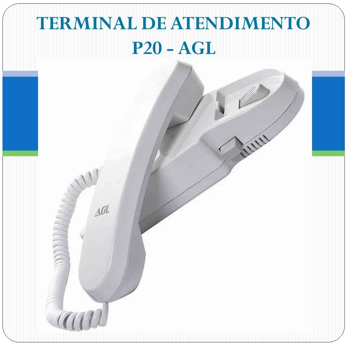 Monofone Extensão Interfone Porteiro Agl - P20