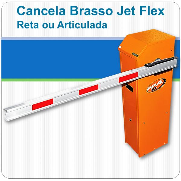 Cancela automática Brasso Jet Flex