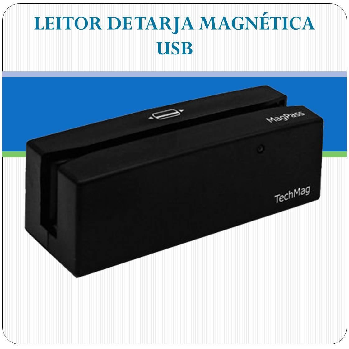 Leitor Magnético USB