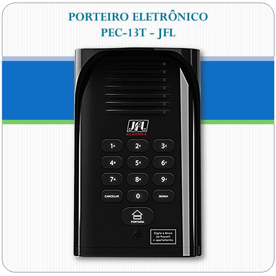 Porteiro Eletrônico PEC-13T - JFL