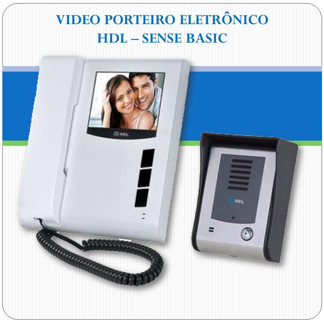 Video Porteiro Eletrônico HDL - Sense Basic