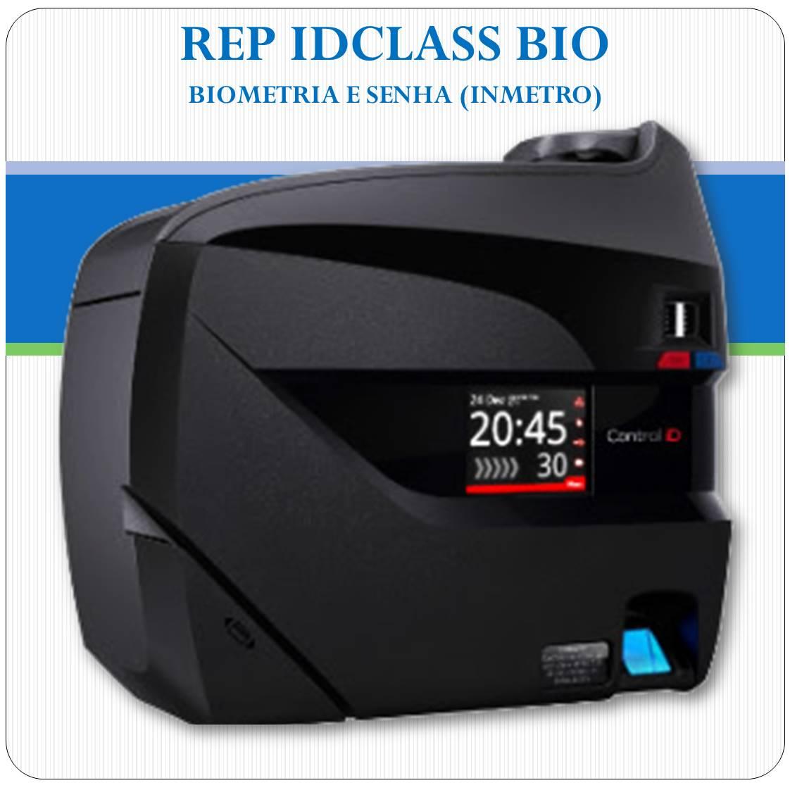 REP iDClass BIO - Biometria e Senha - Inmetro
