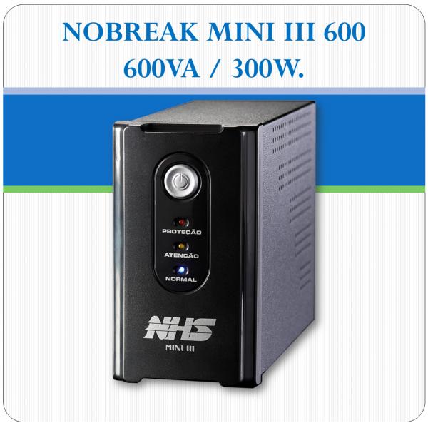 Nobreak MINI III 600 - 600VA / 300W