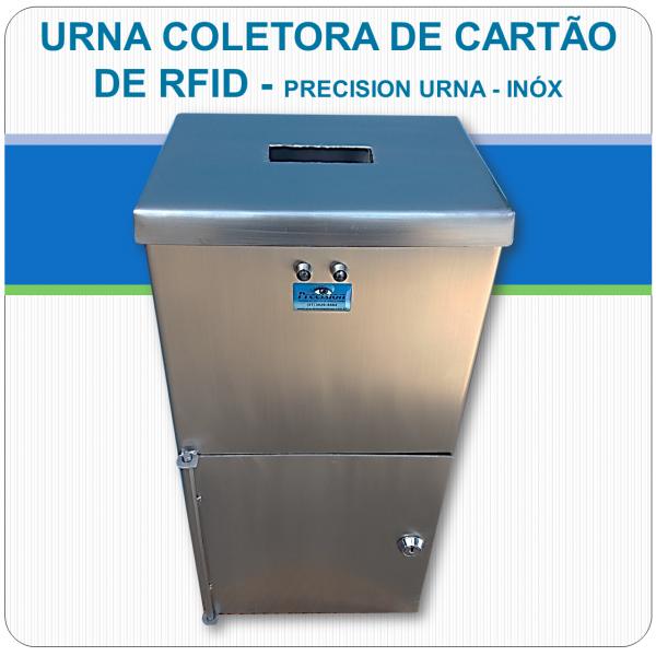 Urna Coletora de cartão RFID - Precision