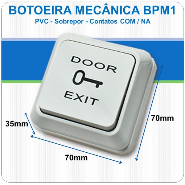 Botoeira Mecânica de Sobrepor NA-C - BPM1