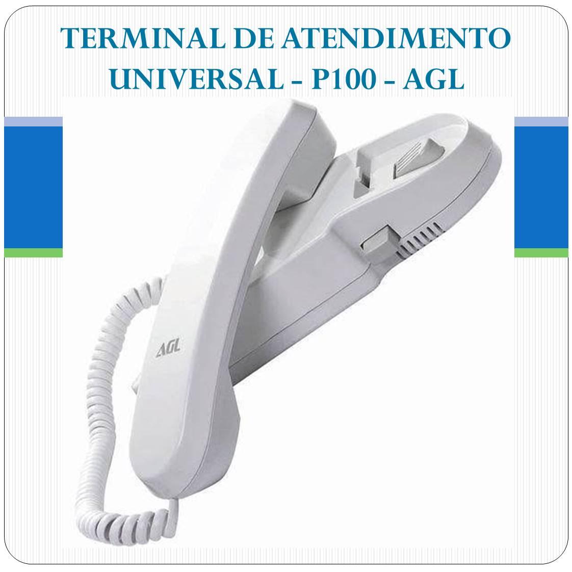 Monofone Extensão Interfone Porteiro Agl - P100