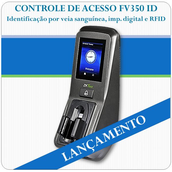 Controle de Acesso por Veia Sanguínea e Impressão Digital FV350 ID