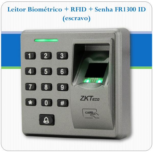 Leitor Biométrico + RFID PFR1300 ID (escravo)